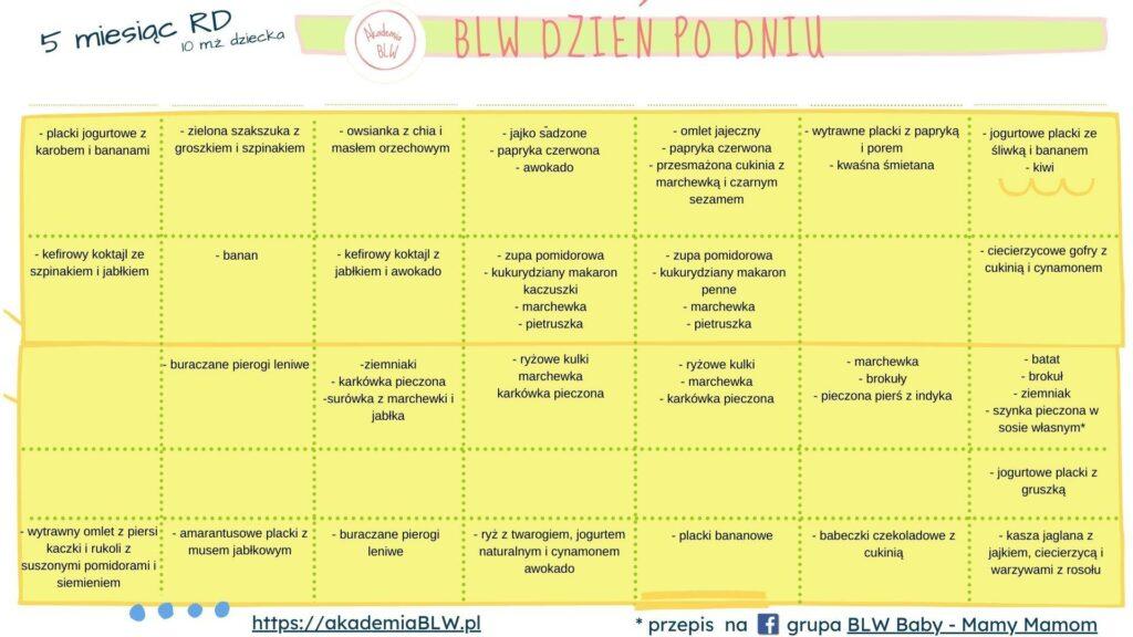 kalendarz blw miesiac 5 t2